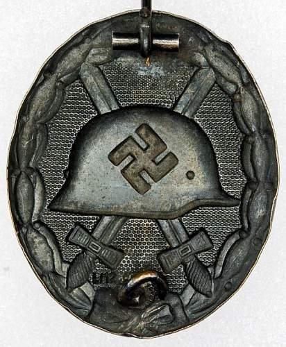 Verwundetenabzeichen 1939 in Schwarz,  l/12