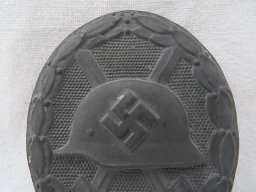 Verwundetenabzeichen 1939 in Silber?