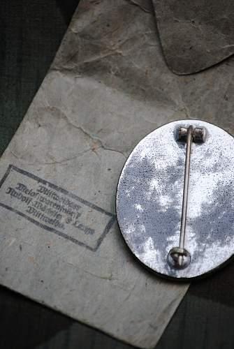 Verwundetenabzeichen 1939 in Silver