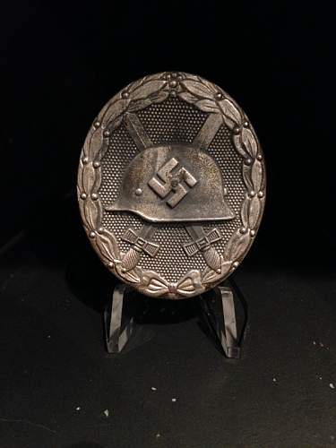 Verwundeten abzeichen 1939 in silber