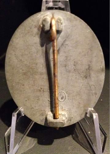 2 verwundeten abzeichen 1939 in gold