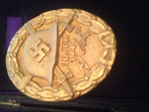 Verwundetenabzeichen 20 Juli 1944