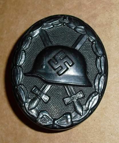 Black Wound Badge Maker?