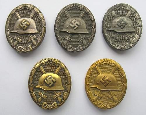 Verwundetenabzeichen 1939 in Silber ok?