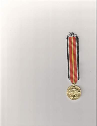 LQQK! - FAKE ALERT! - Legion Condor Wound Badge