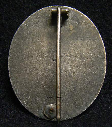 Verwundetenabzeichen in gold 1939