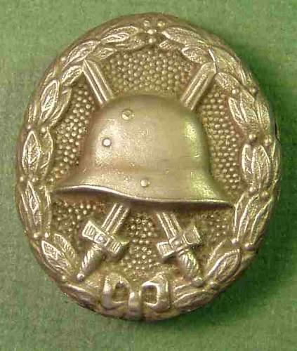 Click image for larger version.  Name:silver_wound_badge_WWI.jpg Views:43 Size:26.2 KB ID:804419
