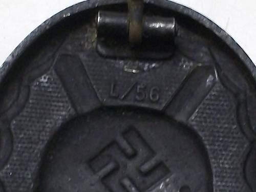 Genuine Verwundetenabzeichen 1939 in Schwarz?