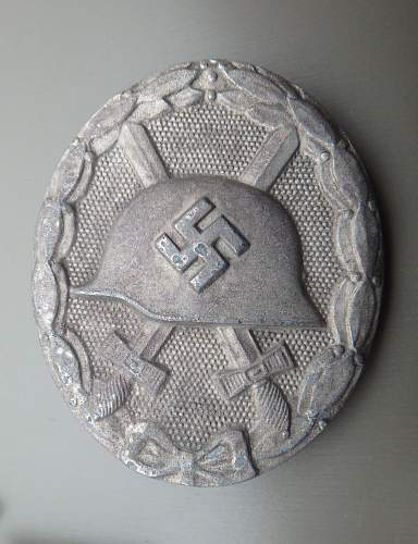 Verwundetenabzeichen Silver 100