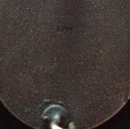 Verwundetenabzeichen in silver L/11