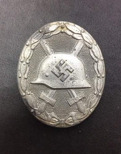 Verwundetenabzeichen gold mm 107
