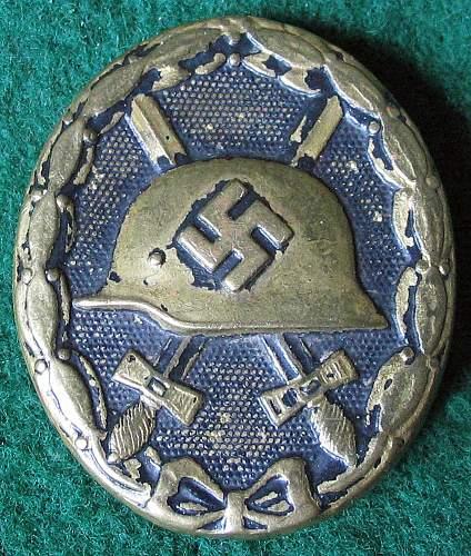 Verwundetenabzeichen 1939 in Schwarz Opinions?