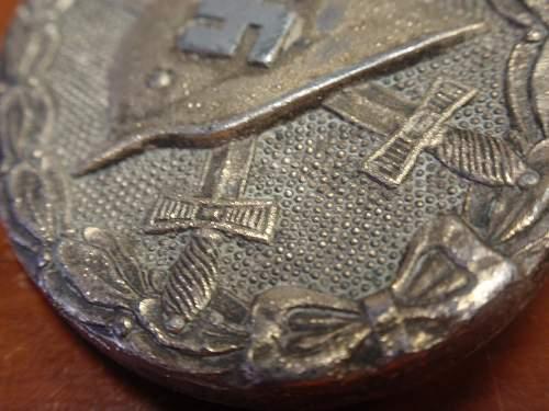Verwundetenabzeichen 1939 in Silber, authentic?