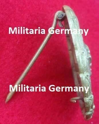 Verwundetenabzeichen 1939 in Gold (1.Form)