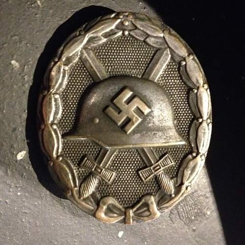 Verwundetenabzeichen 1939 silber mm L/13 for opinion