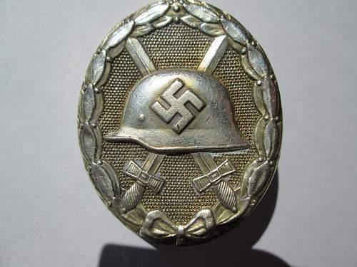 Verwundetenabzeichen in Silber, Real or fake?