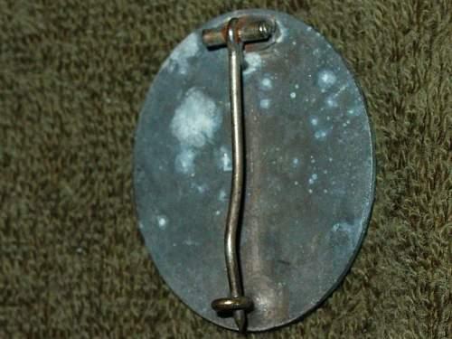 Verwundetenabzeichen  im Silber L14