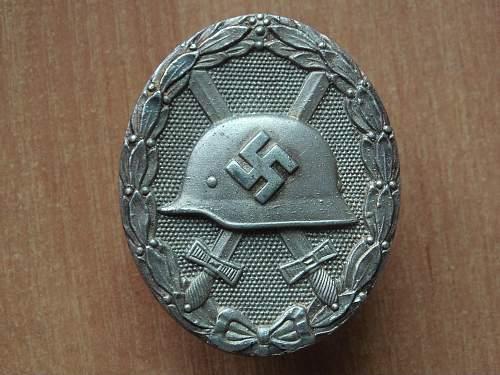 Verwundetenabzeichen 1939 in Silber 65