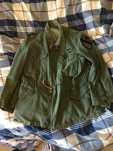 M-51 Field Jacket and Special Forces Patches