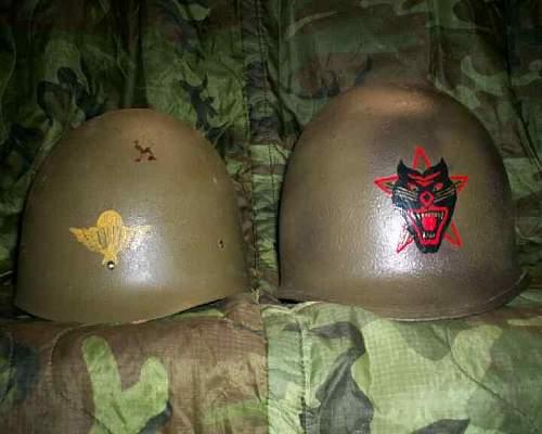 Painted Helmet