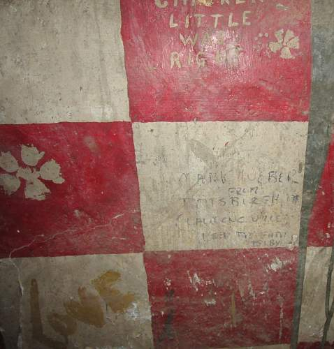 US bunker graffiti Vietnam