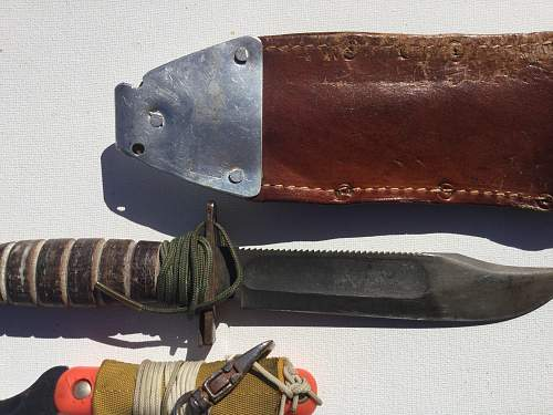 A6 Intruder pilots survival knife