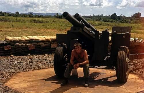 New Zealand troops in Vietnam photos