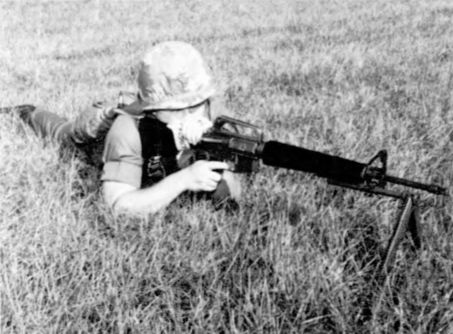 Modified M16A1s