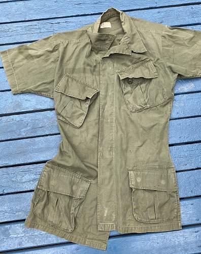 Short sleeve ripstop coat