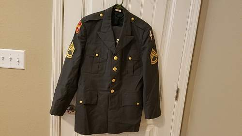Vietnam Tropical Tunic US Army Drill Sgt?