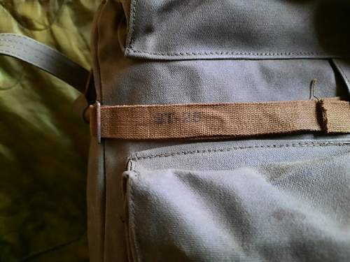 Strange marking on CISO rucksack (not a forestry ruck)