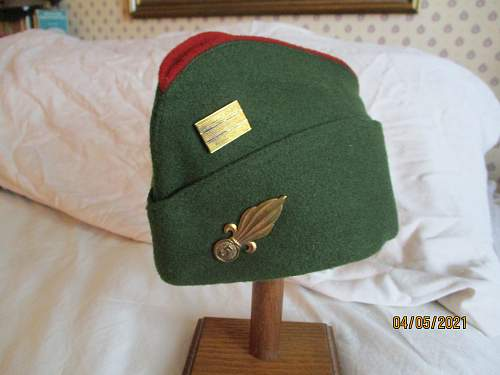 French Foreign Legion Officer's Side Cap