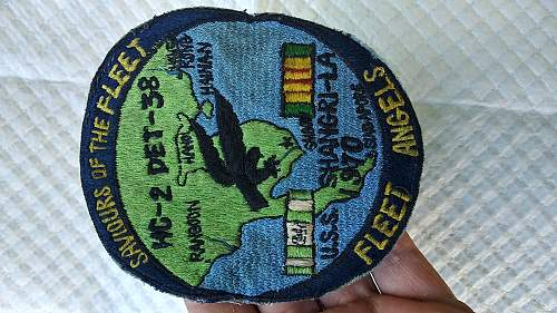 Vietnam helicopter unit patch us navy