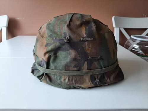 my vietnam war Helmet
