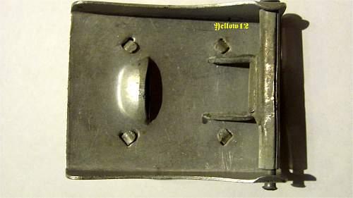 Stahlhelm buckle