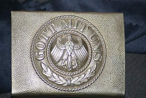 Reichswehr nickel Plated