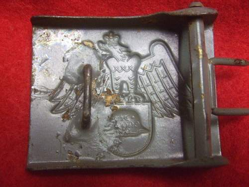 Stahlhelmbund / Wehrsportabteilung Buckle: One for the Rogues Gallery?