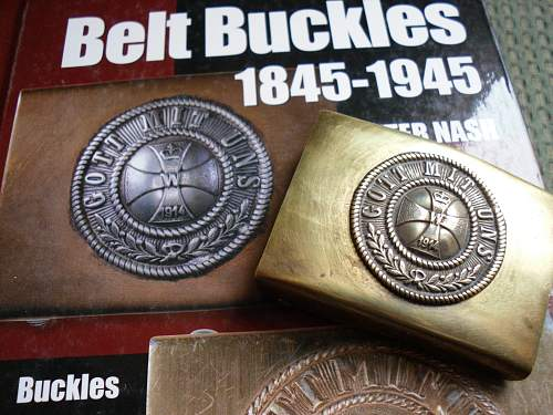 Freikorps / Veteran org. buckle added to collection