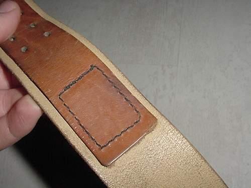 Jungsturm buckle and sling, really fantasy? Belt also fantasy?