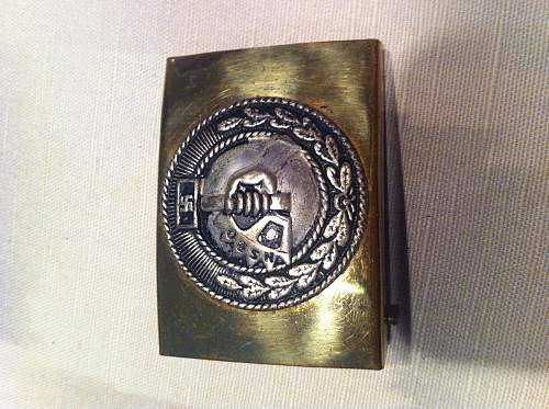 need belt buckle appraisals please: Heer, NSBO and Police