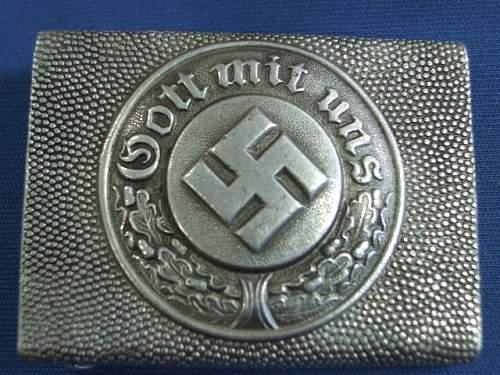 2 belt buckles any good? Stahlhelmbund & Polizie