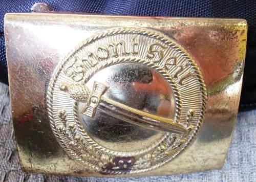Jungstahlhelm bucikle added to collection