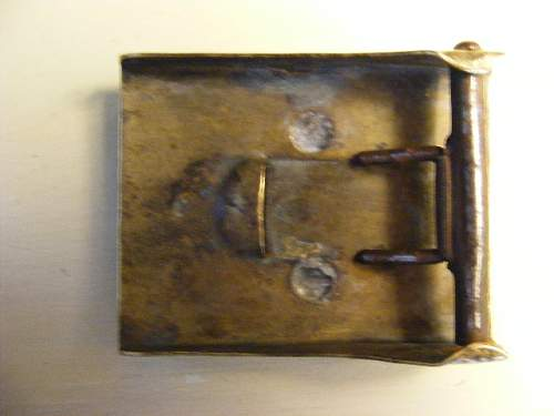 The iron front buckle