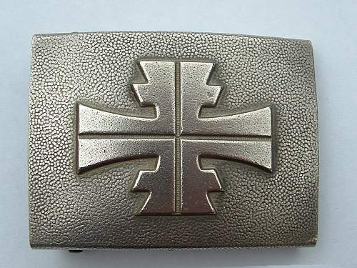 Click image for larger version.  Name:Nickel Tunnerbund Buckle unknown maker front.jpg Views:61 Size:186.2 KB ID:427225