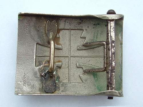 Click image for larger version.  Name:Nickel Tunnerbund Buckle unknown maker Rear.jpg Views:57 Size:129.4 KB ID:427228