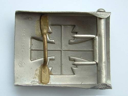 Turnverein buckle