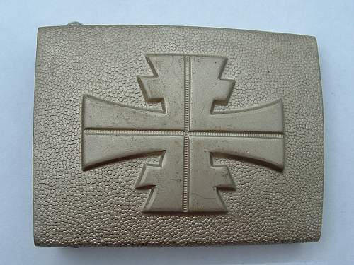 German Buckle ..identification required ,thanks !!