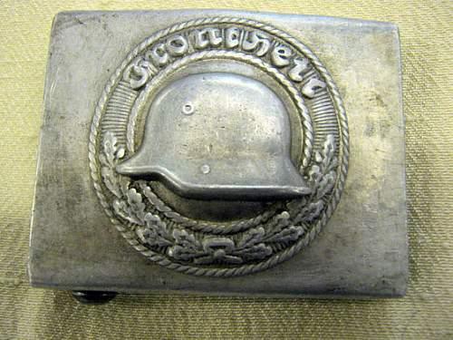 Freikorps buckle?