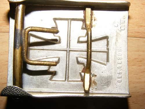 Turnerbund buckle