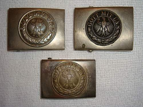 Click image for larger version.  Name:Smooth Box Reichswehr Buckles.jpg Views:505 Size:228.6 KB ID:583292